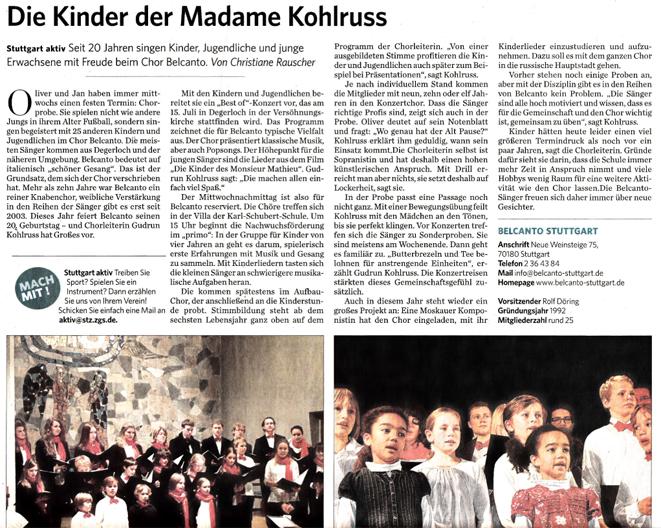 Die Kinder der Madame Kohlruss